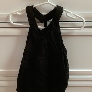 Old Navy black toddler halter top